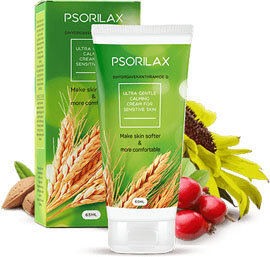 Psorilax has a natural composition